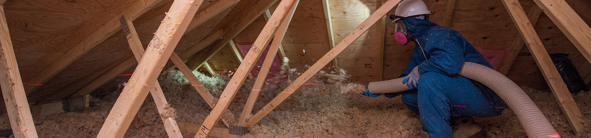 Residential attic insulation burlington hamilton for Foundation blanket wrap insulation