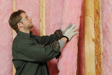 Fibreglass batts insulation products burlington hamilton for Foundation blanket wrap insulation