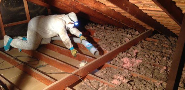 Residential insulation removal burlington hamilton Blown in insulation vs batts