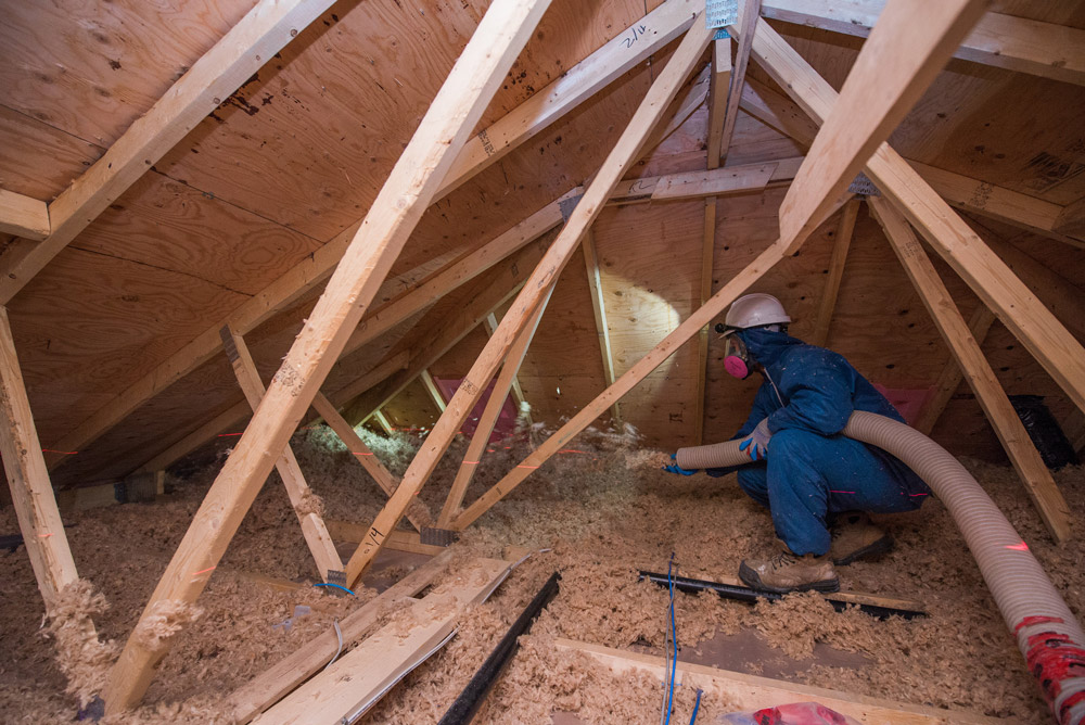 Blown in insulation products burlington hamilton for Foundation blanket wrap insulation