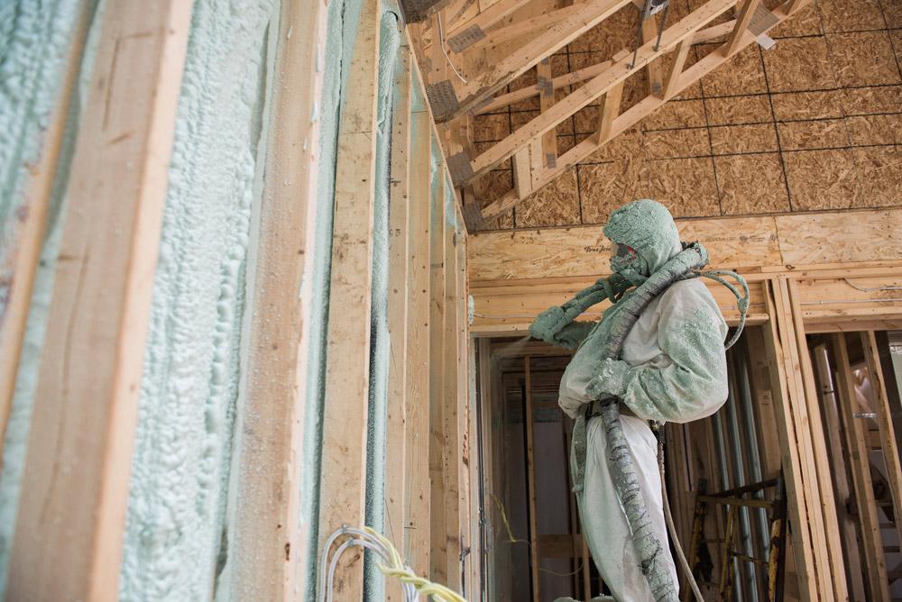 Residential Spray Foam Insulation Burlington Hamilton